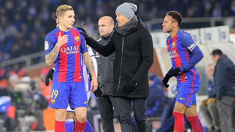 """El Barça de """"Lucho"""" entierra por fin la pesadilla de Anoeta"""