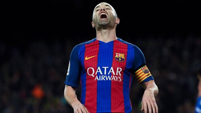 Por esto Iniesta no terminó el partido contra la Real Sociedad