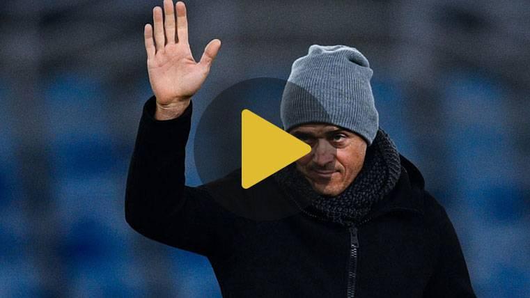"""Luis Enrique: """"Se nota cuando Iniesta no está en el campo"""""""