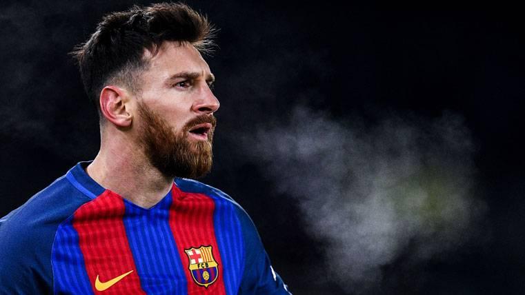 El pelotazo de Yuri que encendió a Leo Messi en Anoeta