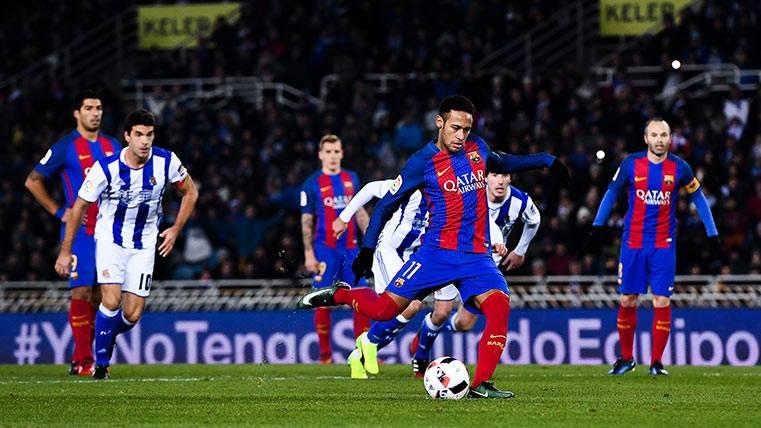 ¿Ya sabes a quién le dedicó Neymar su gol ante la Real?