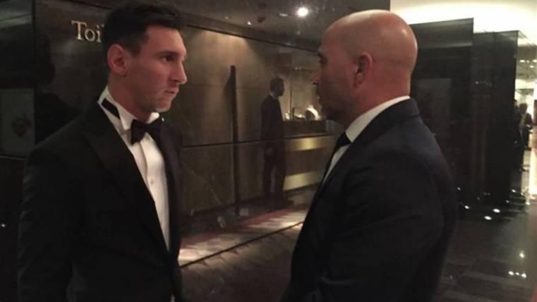 Sampaoli, Messi y la comparación más alocada con Batman