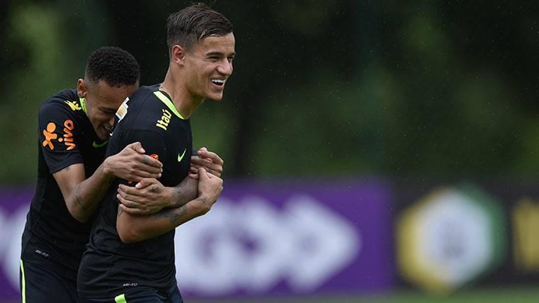 Coutinho confiesa que quiere seguir los pasos de Neymar