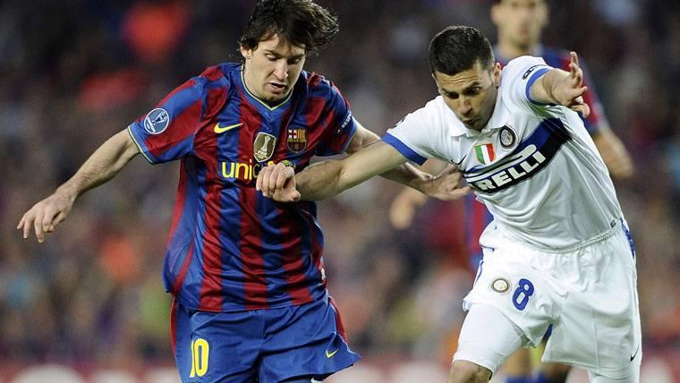 Descartan el imposible fichaje de Messi por el Inter de Milán