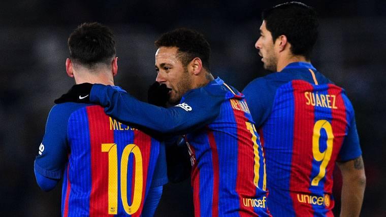 Leo Messi, el más solidario: 15 penaltis para Neymar y Suárez