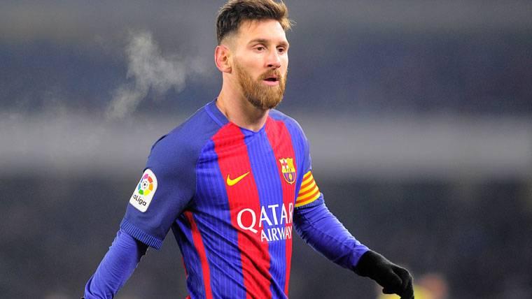 Se trunca la racha de partidos seguidos marcando de Messi