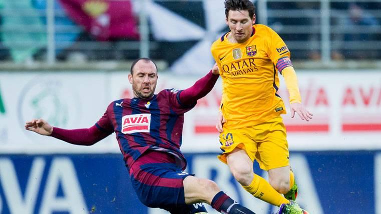 El Eibar pretende encerrar al Barça en su campo en Ipurúa