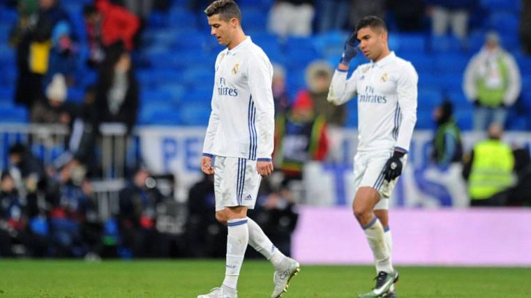 ¡Problemas físicos para Cristiano Ronaldo en el Real Madrid!