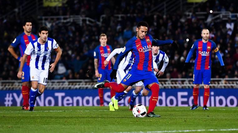 El Barça afina la puntería en los lanzamientos de penalti