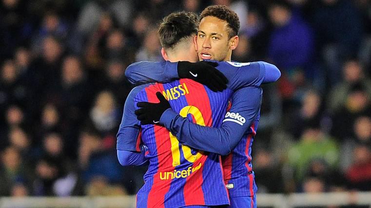 La comparación más igualada entre Neymar Jr y Messi