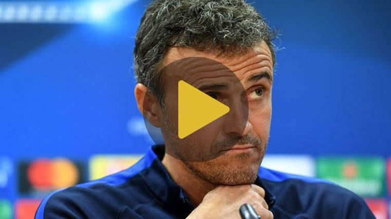 """Luis Enrique: """"Me preocupa el estado del césped ante el Eibar"""""""
