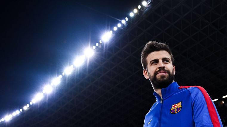 Inesperado y espectacular homenaje de la UEFA a Piqué