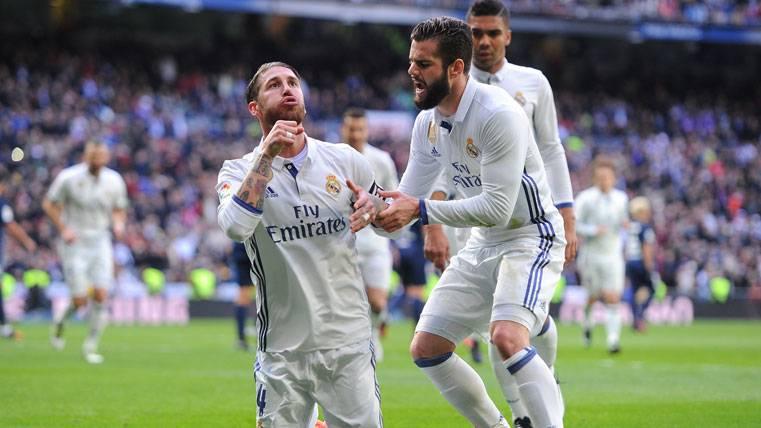 Ayuda arbitral para que el Real Madrid vuelva a ganar