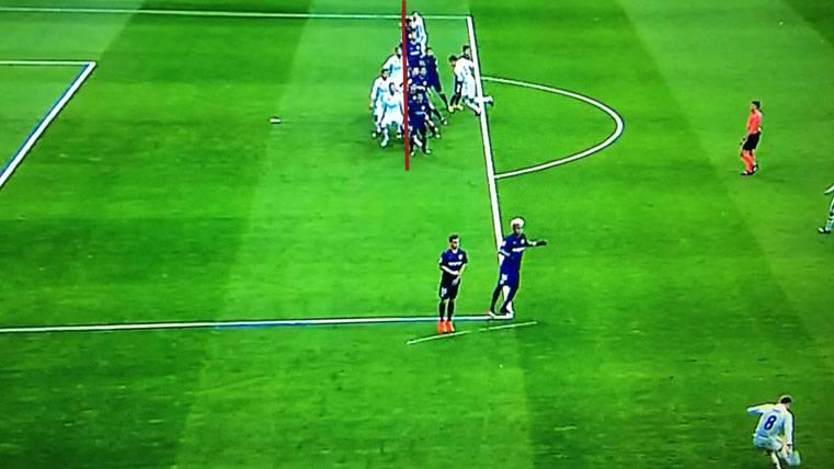 ¡Había fuera de juego en el segundo gol de Sergio Ramos!