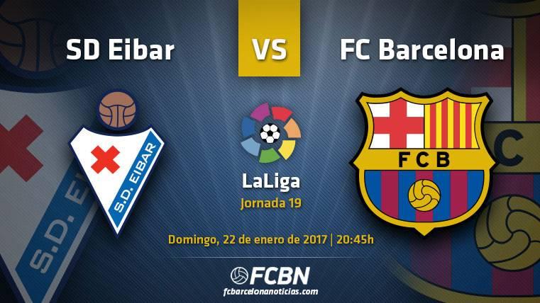 Eibar-Barça: A cerrar a lo grande la primera vuelta de Liga