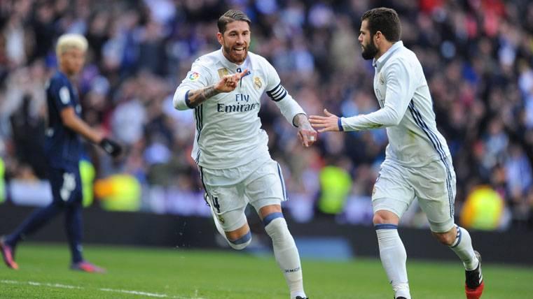 """POLVORÍN: Ramos lanza un """"dardo"""" a la afición del Madrid"""