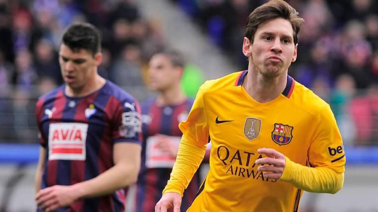 Leo Messi, una pesadilla constante para el Eibar en Liga