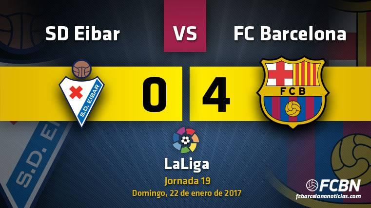 El Barça sigue la caza al Madrid con otro recital de Messi (0-4)