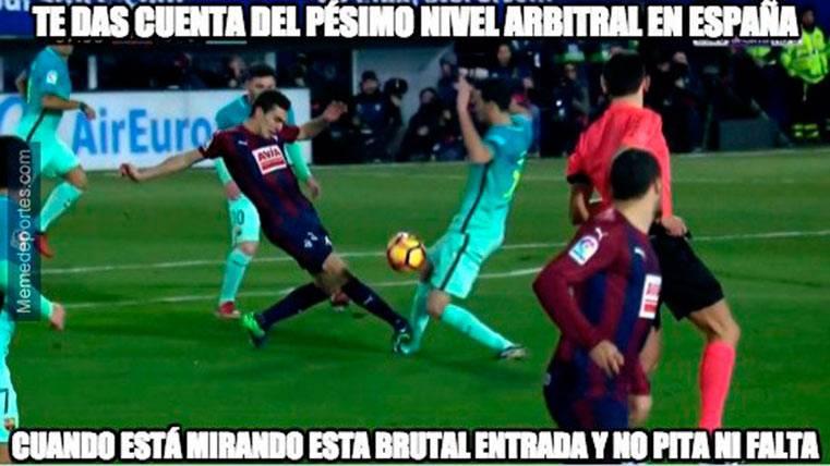 """Estos son los mejores """"memes"""" del Eibar-FC Barcelona"""