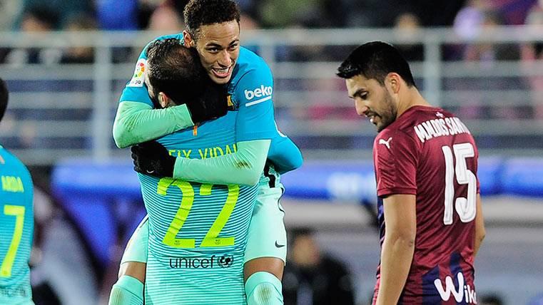 Aleix Vidal, suma y sigue con el FC Barcelona en LaLiga