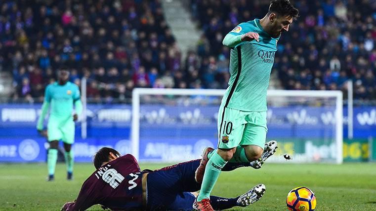 Argentina, rendida a Leo Messi y su exhibición ante el Eibar