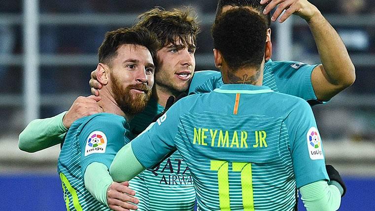 """El FC Barcelona adelanta al Real Madrid en el """"goal-average"""""""