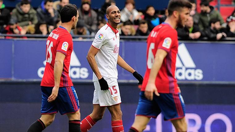 N'Zonzi, titular y partícipe de la remontada del Sevilla