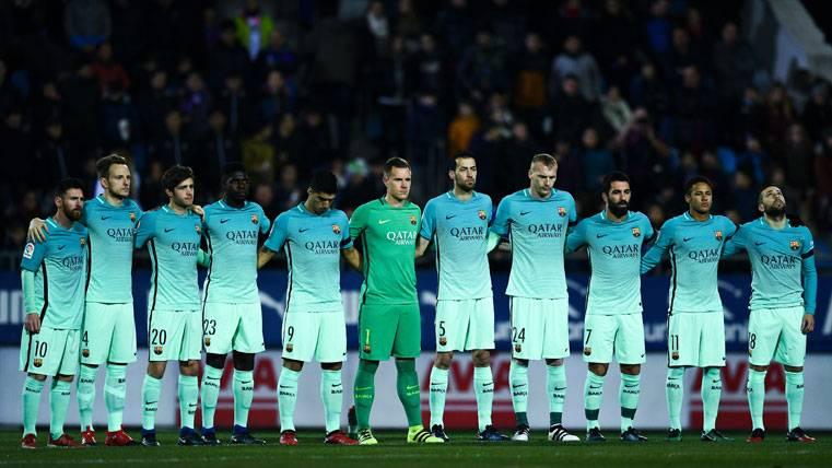 El Barça igualó la mejor racha de la temporada en Ipurúa