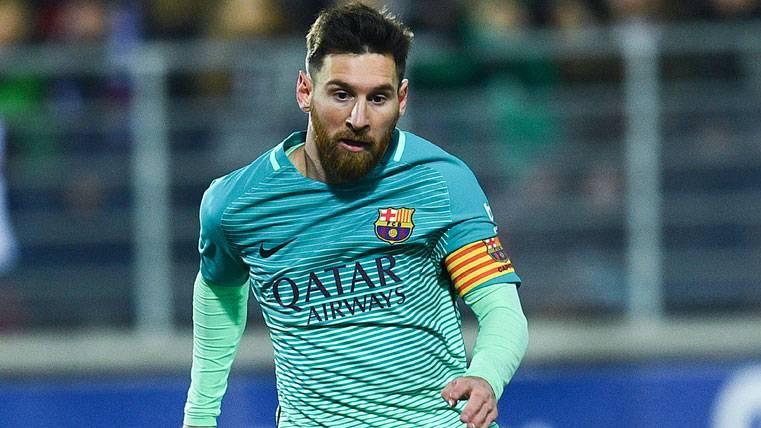 Leo Messi, de cumpleaños tras el recital con el Barcelona