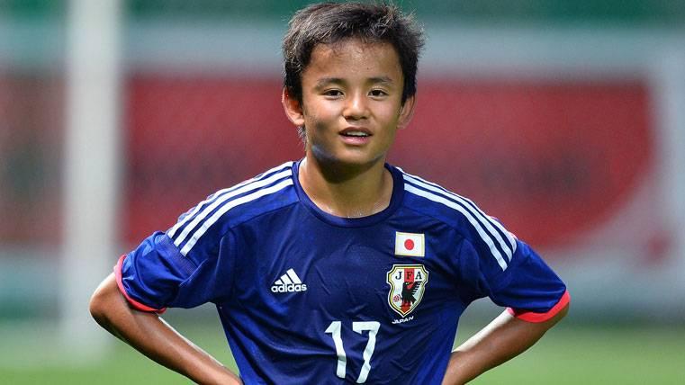Takefusa Kubo, la otra joya que quiere recuperar el Barça