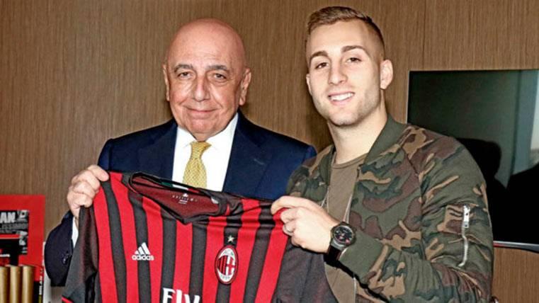 Gerard Deulofeu, presentado como nuevo jugador del AC Milan