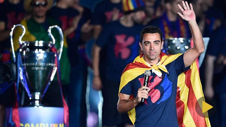 Mira el emotivo vídeo del Barça para felicitar a Xavi Hernández
