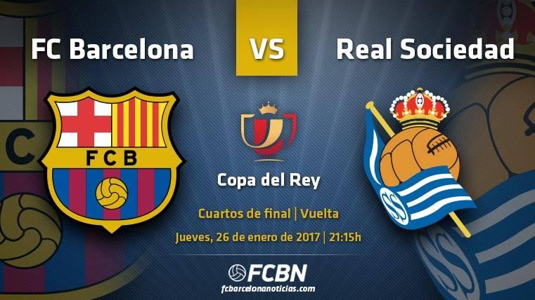 FC Barcelona-Real Sociedad: Toca rematar la faena en casa