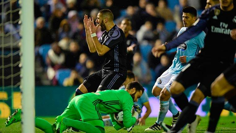 Así se vio el humillante descalabro del Madrid en la Copa