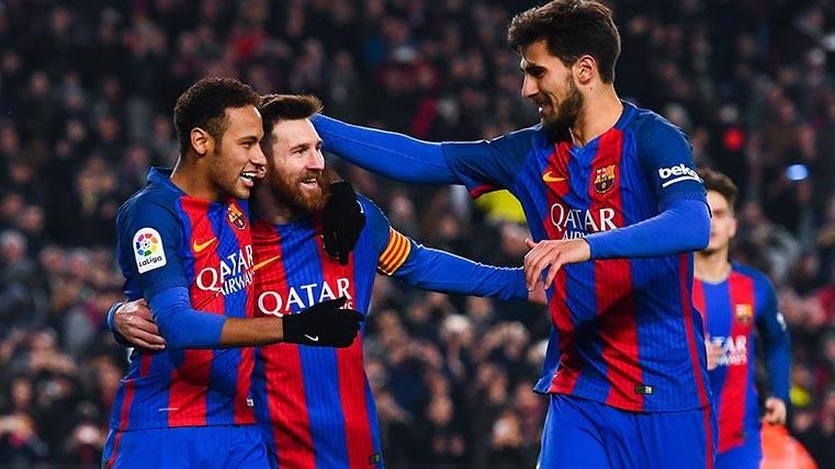 Neymar provocó otro penalti y Messi lo materializó