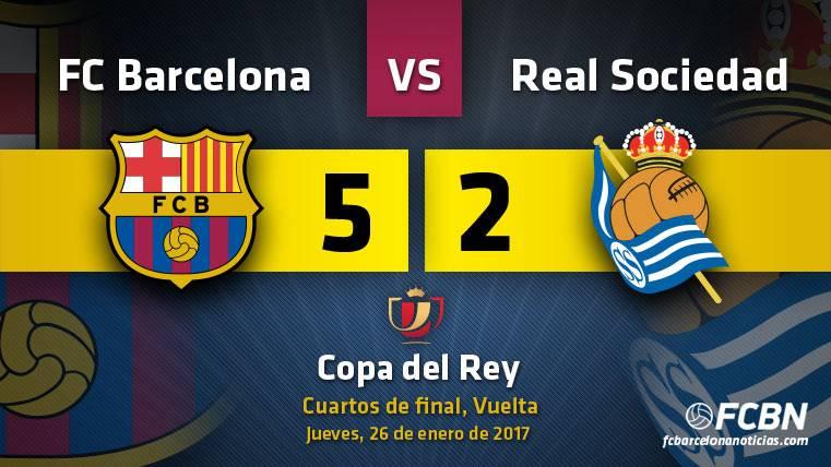 El Barça se gusta y ya está en semifinales de Copa