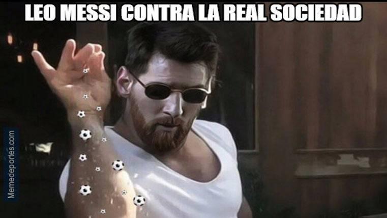 """Estos son los mejores """"memes"""" del Barcelona-Real Sociedad"""