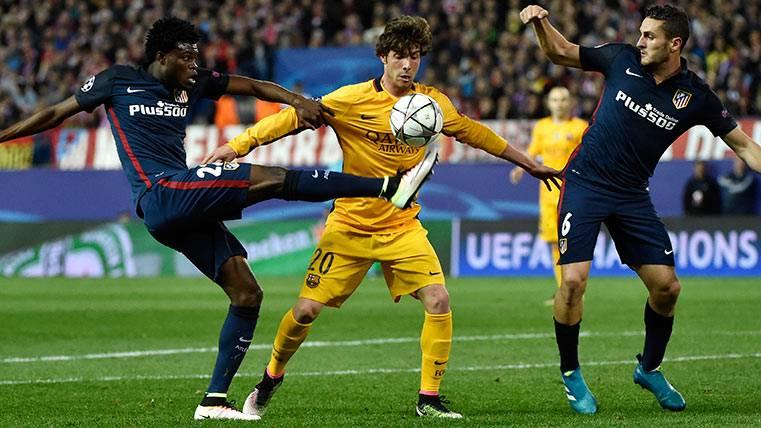 Sergi Roberto avisa del Atlético y Koke no se achica ante el Barça