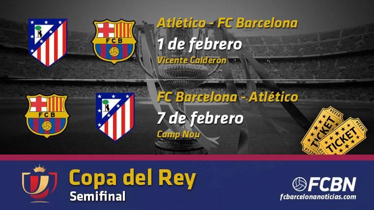 Entradas FC Barcelona vs Atlético Madrid - Copa
