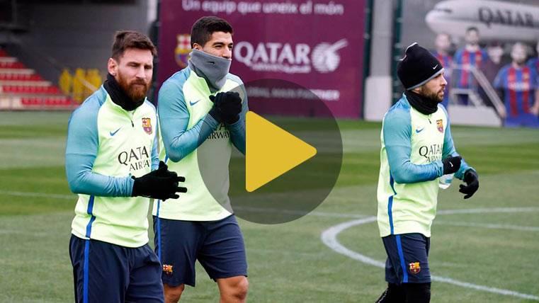 """El Barça """"recupera"""" con la vuelta de Marlon al entreno"""