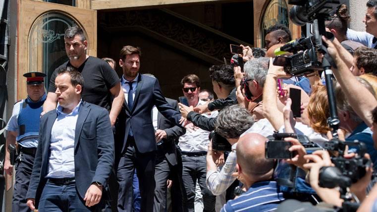 El Supremo confirma la condena de 21 meses para Leo Messi