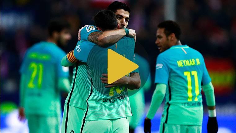 Vídeo resumen: Atlético 1 Barcelona 2 (Ida Semis Copa)