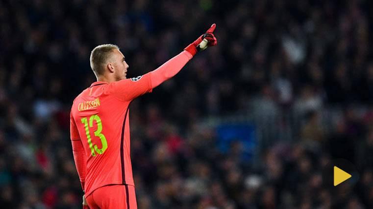 Paradón salvador de Cillessen para asentarse en el Barça