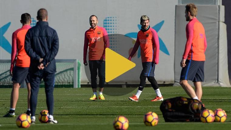 OPTIMISMO: ¡Andrés Iniesta ya se entrena con el grupo!