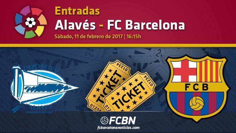 Entradas Alavés contra FC Barcelona - La Liga