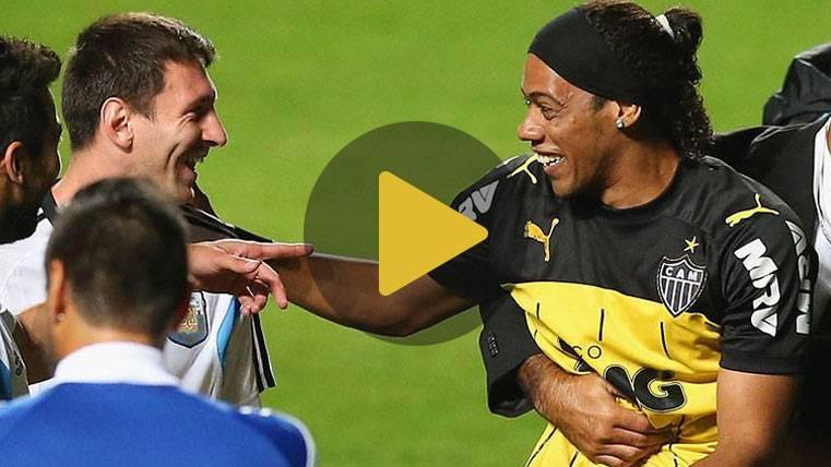 "Ronaldinho: ""Con Messi comenzó una nueva historia del fútbol"""