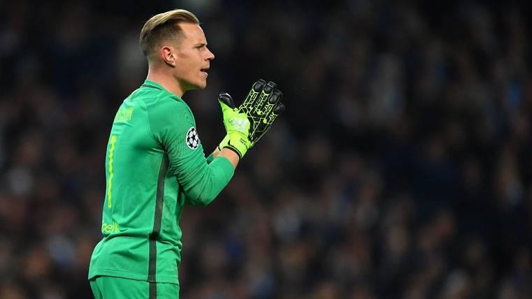El Barça se salvó de un susto gracias a Ter Stegen