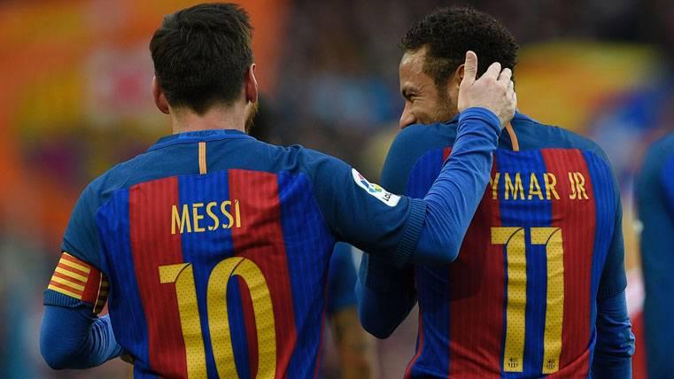 """""""Es probable que Neymar coja el relevo de Messi en el Barça"""""""