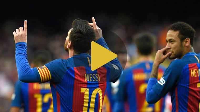 Vídeo resumen: FC Barcelona 3 Athletic Club 0 (LaLiga J21)
