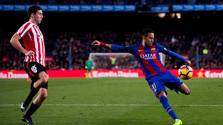 ¡Hasta Luis Enrique se deshizo en elogios para Neymar!